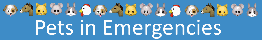 Pets in Emergencies banner3