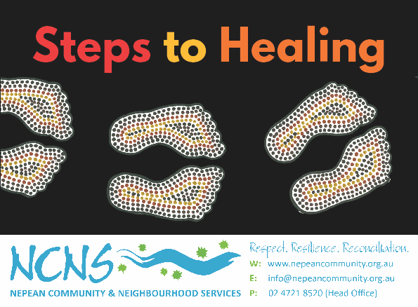 Steps to healing flyer Kooly1