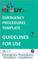 Emerg Procedures Template guide cover
